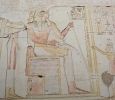 Divinized king, Ramses II temple, Abydos