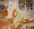 Ramses III offering incense, QV 55