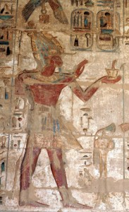 Medinet-Habu-atef-incense-Egypt