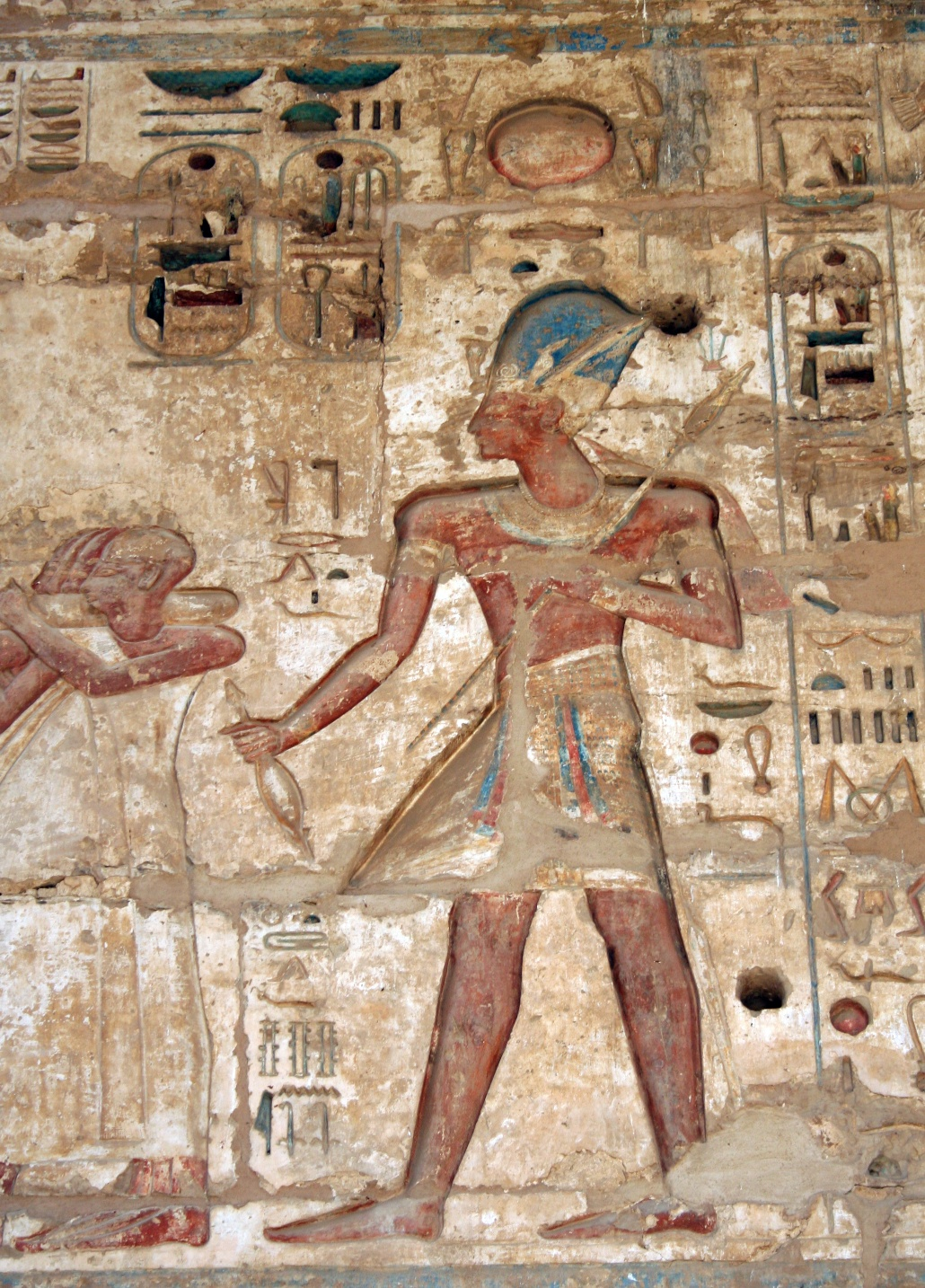 egyptian art analysis The great age of ancient egypt lasted ca 3000-1000 bc (see history of the  ancient middle east) for the most part, the style of egyptian art throughout this.