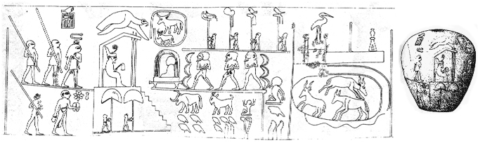 Narmer-macehead-drawing