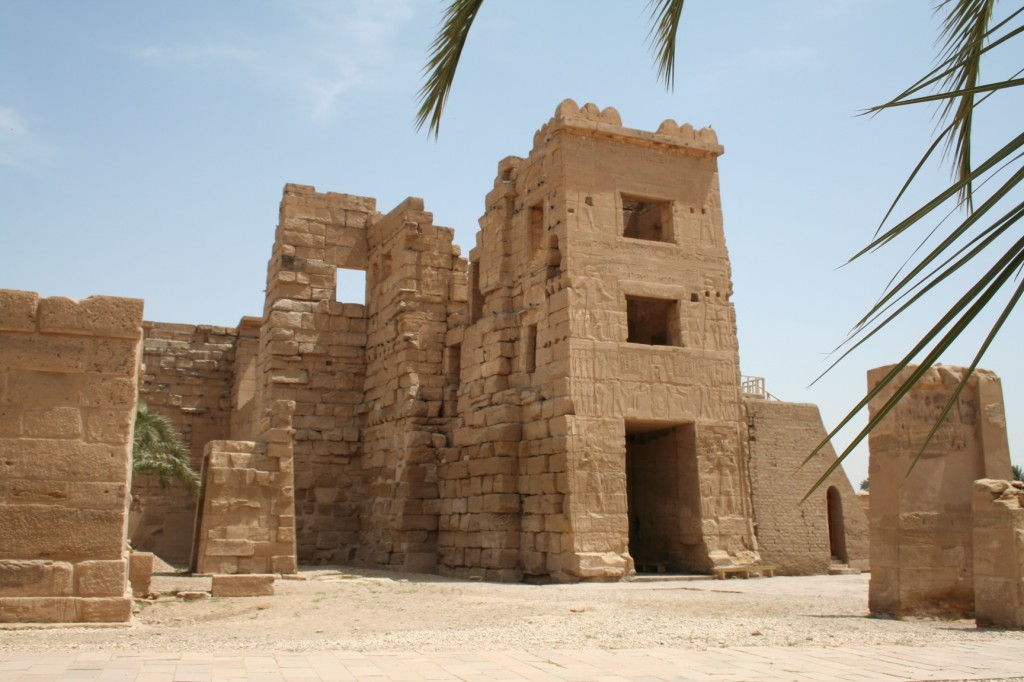 Medinet-Habu-High-Gate-general-Egypt