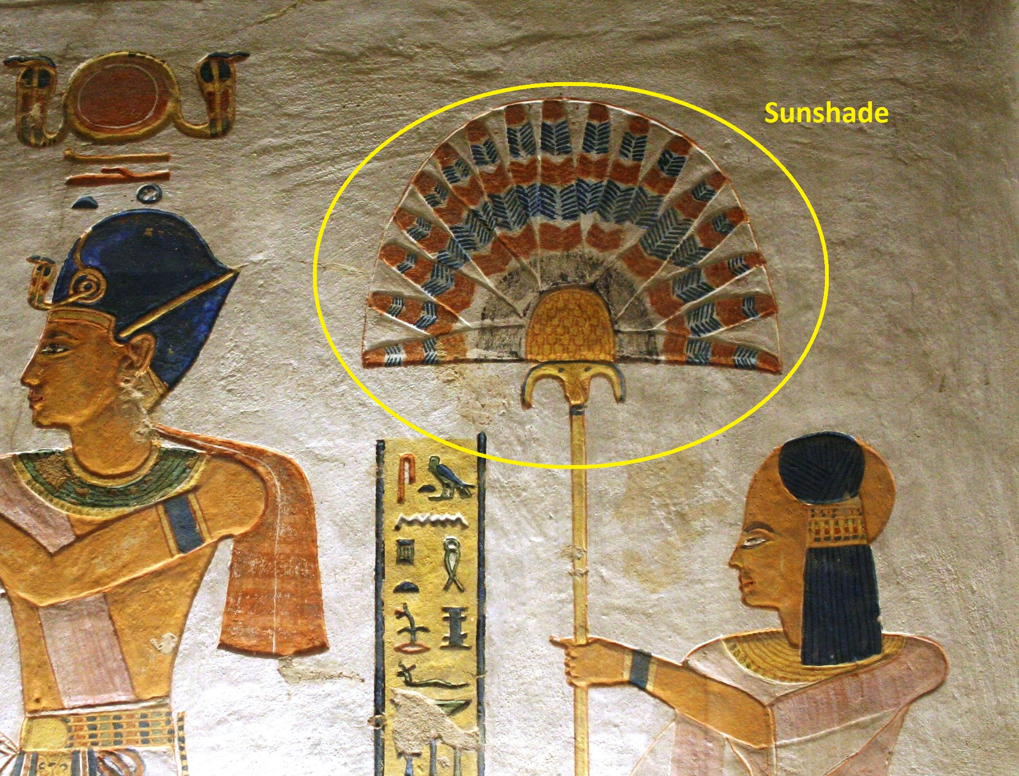 Variable of the Day, Ancient Egypt: Sunshade | Art of Counting